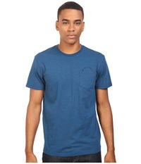 Tavik Crew Short Sleeve Pocket T Shirt Blue Men's T Shirt