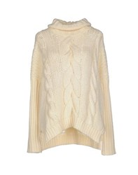 Kaos Knitwear Turtlenecks Women Ivory