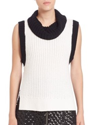 Sachin Babi Nina Wool Blend Sweater Ivory
