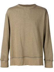 Mr. Completely Boxy Fit Jumper Green