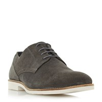 Linea Broomsticks Eva Sole Gibson Shoes Dark Grey