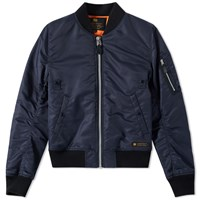 Neighborhood Ma 1 Jacket Blue