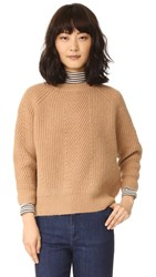 Demy Lee Chelsea Sweater Camel