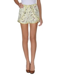 Eleven Paris Shorts Light Yellow