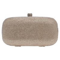 Carvela Darling Box Clutch Bag Silver