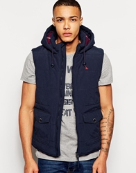 Jack Wills Paddlesworth Gilet Navy