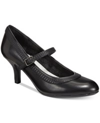 Easy Street Shoes Cecilia Mary Jane Pumps Women's Black Combo