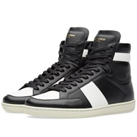 Saint Laurent 10H High Top Sneaker Black