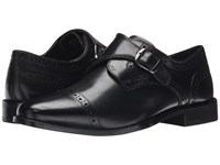 Nunn Bush Newton Cap Toe Monk Strap Black Men's Monkstrap Shoes