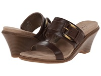 Lifestride Peaceful Mid Brown Women's Wedge Shoes