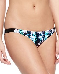 Milly Low Rise Printed Bikini Bottom Women's
