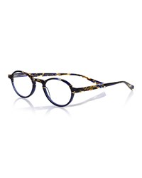 Eyebobs Board Stiff Patterned Acetate Readers Blue Tortoise