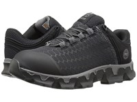 Timberland Powertrain Soft Toe Sd Black Synthetic Women's Work Lace Up Boots