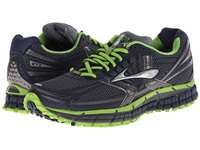 Brooks Adrenaline Asr 11 Gtx Ombre Blue Peacoat Greenery Men's Running Shoes Black