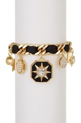 Louise Et Cie Jewelry Star Mix Charm Bracelet Metallic
