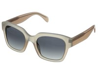 Marc By Marc Jacobs Mmj 457 S Opal Rose Pink Gray Gradient Metal Frame Fashion Sunglasses Silver