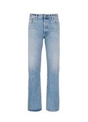 Simon Miller 'Jaff' Relaxed Fit Cotton Selvedge Jeans Blue
