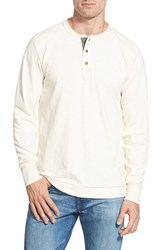 Men's Jeremiah 'Finn' Long Sleeve Slub Henley Antique