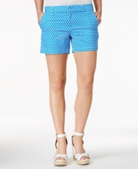 Tommy Hilfiger Hollywood Printed Shorts Blue White