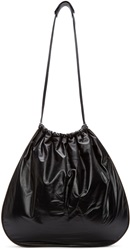 Marni Black And Brown Leather Slouchy Tote Bag