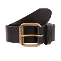 Dents Mens Leather Belt Navy