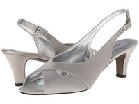 David Tate Palm Silver Women's Sling Back Shoes