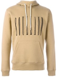 Soulland 'Samoth' Hoodie Nude And Neutrals