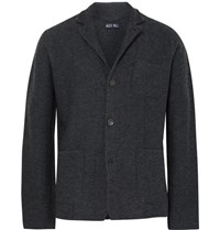 Alex Mill Unstructured Merino Wool Blazer Charcoal