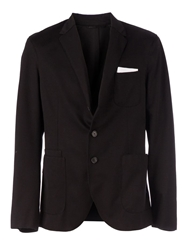 Neil Barrett Pocket Square Blazer Black