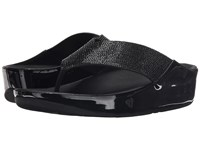 Fitflop Crystall Toe Post Black Women's Sandals