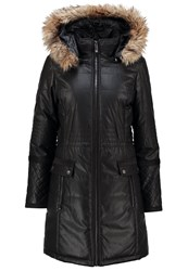 Morgan Winter Coat Noir Black