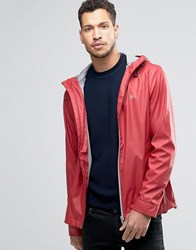 Original Penguin Rubber Rain Jacket Red