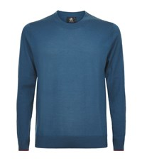 Paul Smith Ps By Merino Wool Jumper Male Teal