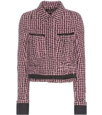 Haider Ackermann Wool And Alpaca Blend Jacket Pink