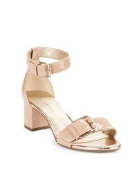 Bandolino Sages Buckle Sandals Pink