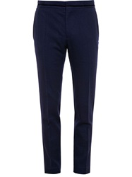 Haider Ackermann Wool And Velvet Trousers