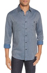 Faherty Men's 'Seasons' Trim Fit Jaspe Cotton Sport Shirt