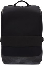 Y 3 Black Neoprene Small Qasa Backpack