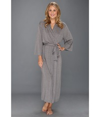 Natori Shangri La Robe Heather Grey Women's Robe Gray