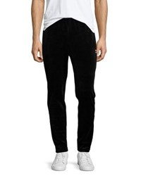 Fila Velour Slim Fit Lounge Pants Black