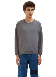 Olderbrother Crew Neck Jersey Sweater Grey