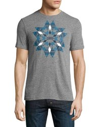 Original Penguin Heathered Snowflake Tee Gray