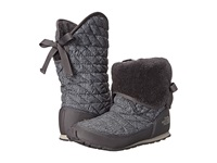 The North Face Thermoball Roll Down Bootie Ii Tnf Black Jumbo Herringbone Print Plum Kitten Grey Women's Boots Gray