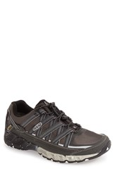 Keen Men's 'Versatrail' Waterproof Hiking Shoe Black White