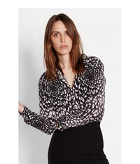 Equipment Slim Signature Cheetah Print Shirt