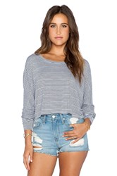 Saint Grace Shirttail Crop Top Black