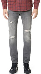 7 For All Mankind Paxtyn Tapered Skinny Jeans Axiom