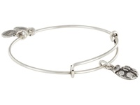 Alex And Ani Ladybug Charm Bangle Rafaelian Silver Finish Bracelet