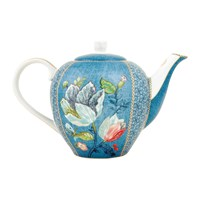 Pip Studio Spring To Life Teapot Blue Large