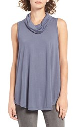 Rvca Women's Closer Cowl Neck Swing Tank